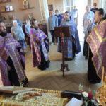 молебен в храме ап. Петра и Павла